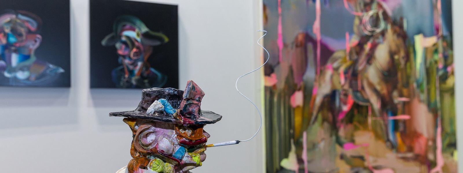 Streifzug durch die Halle Victor Hugo: Die Art Week lockt mit Aufsehen erregender Kunst.