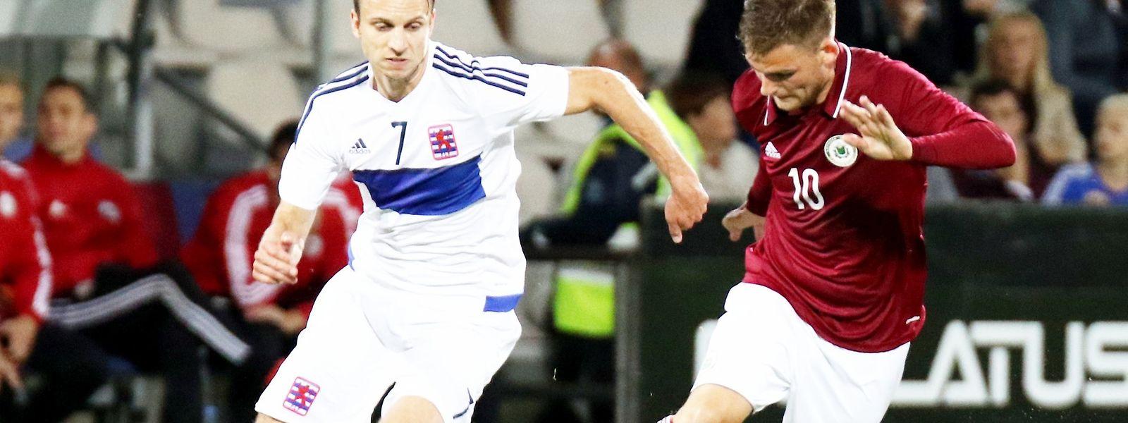 Lars Gerson a livré une rencontre d'excellente facture, ce vendredi en amical contre la Lettonie.