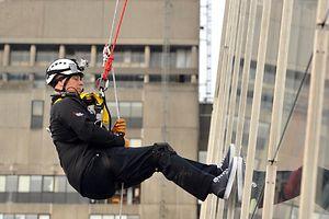 Prinz Andrew zeigt Mut - für die gute Sache.