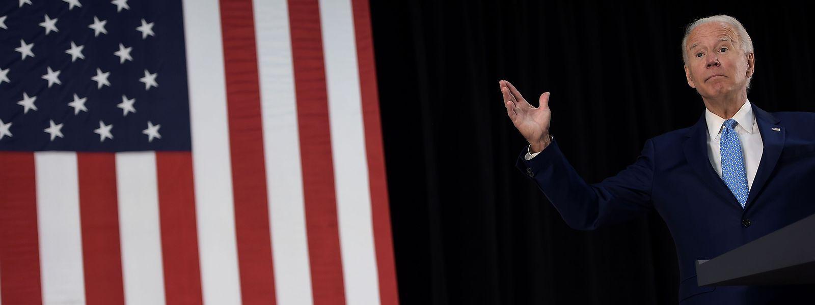 Der Herausforderer: Joe Biden, Präsidentschaftskandidat der Demokraten.
