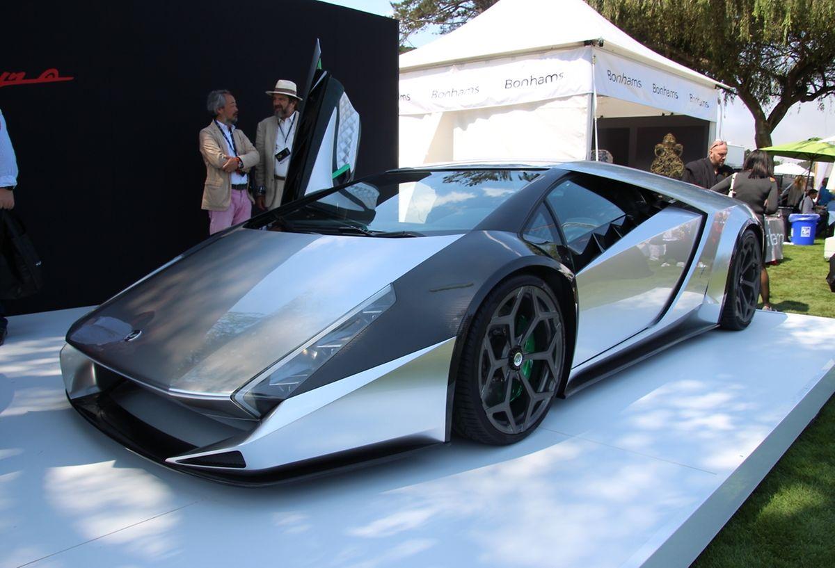 """Der ehemalige Ferrari-Designer Ken Okuyama präsentierte einen vom Lamborghini Diablo inspirierten Supersportwagen. Den """"Kode 0"""" mit 515 kW/700 PS wird es aber nur einmal geben."""