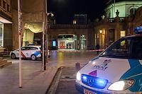 Lok , Messerstecherei auf den Treppen der Passerelle neben Bahnhof Luxemburg , Gare , Foto: Guy Jallay/Luxemburger Wort