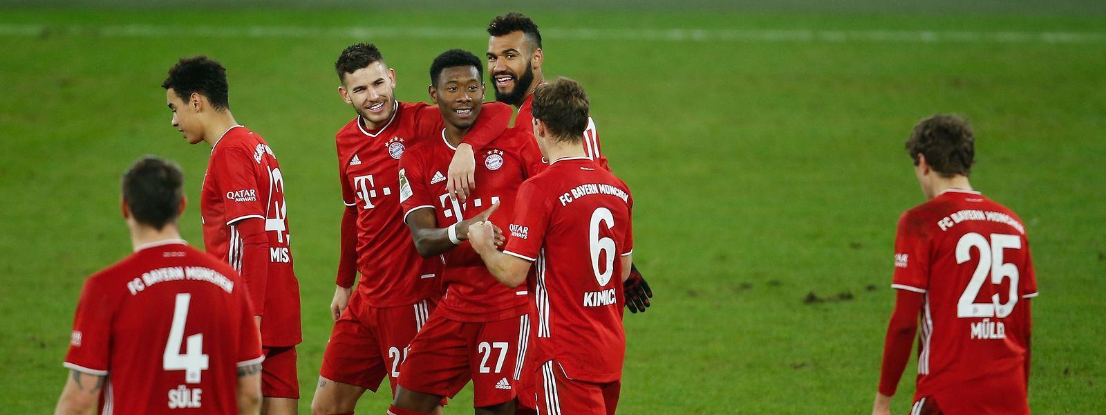 Anders als die Titelkonkurrenten setzen sich die Bayern souverän durch.