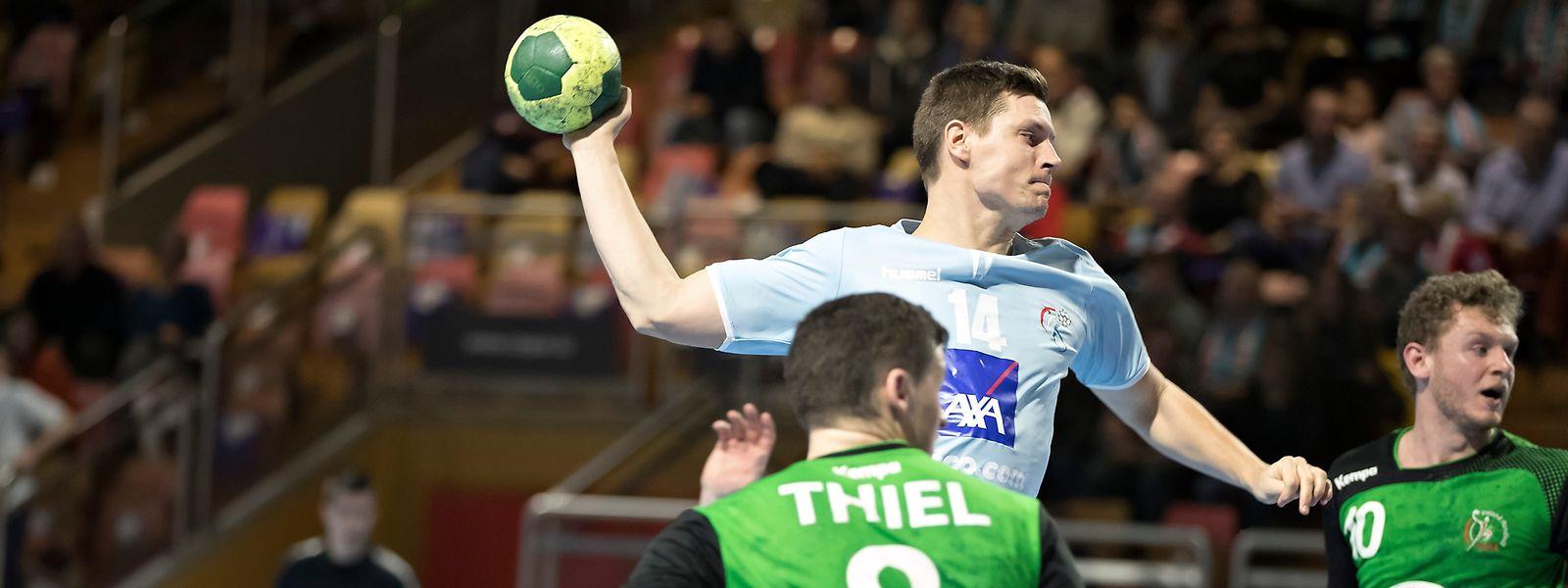Christian Bock stand bei seinem Comeback nach seinem Rücktritt in der Startaufstellung der Luxemburger.