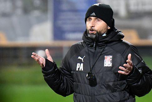 Fußballtrainer Paolo Amodio: \