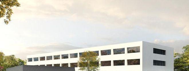 Das 2 800 Quadratmeter große Gebäude wird 9,9 Millionen Euro kosten.