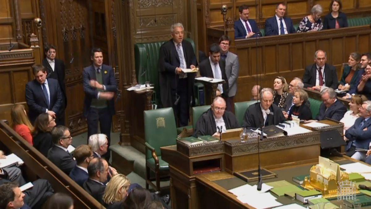 Das britische Unterhaus lehnte Mays Brexit-Abkommen bereits drei Mal ab.