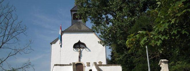 """Die """"Kräizkapell"""" wurde 1737 auf dem """"Kräizerberreg"""" errichtet."""
