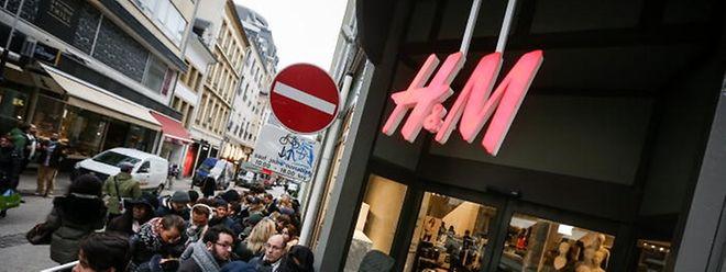 Die H&M-Niederlassung in Luxemburg: Welche Filialen betroffen sein werde, hat der Konzern nicht mitgeteilt.