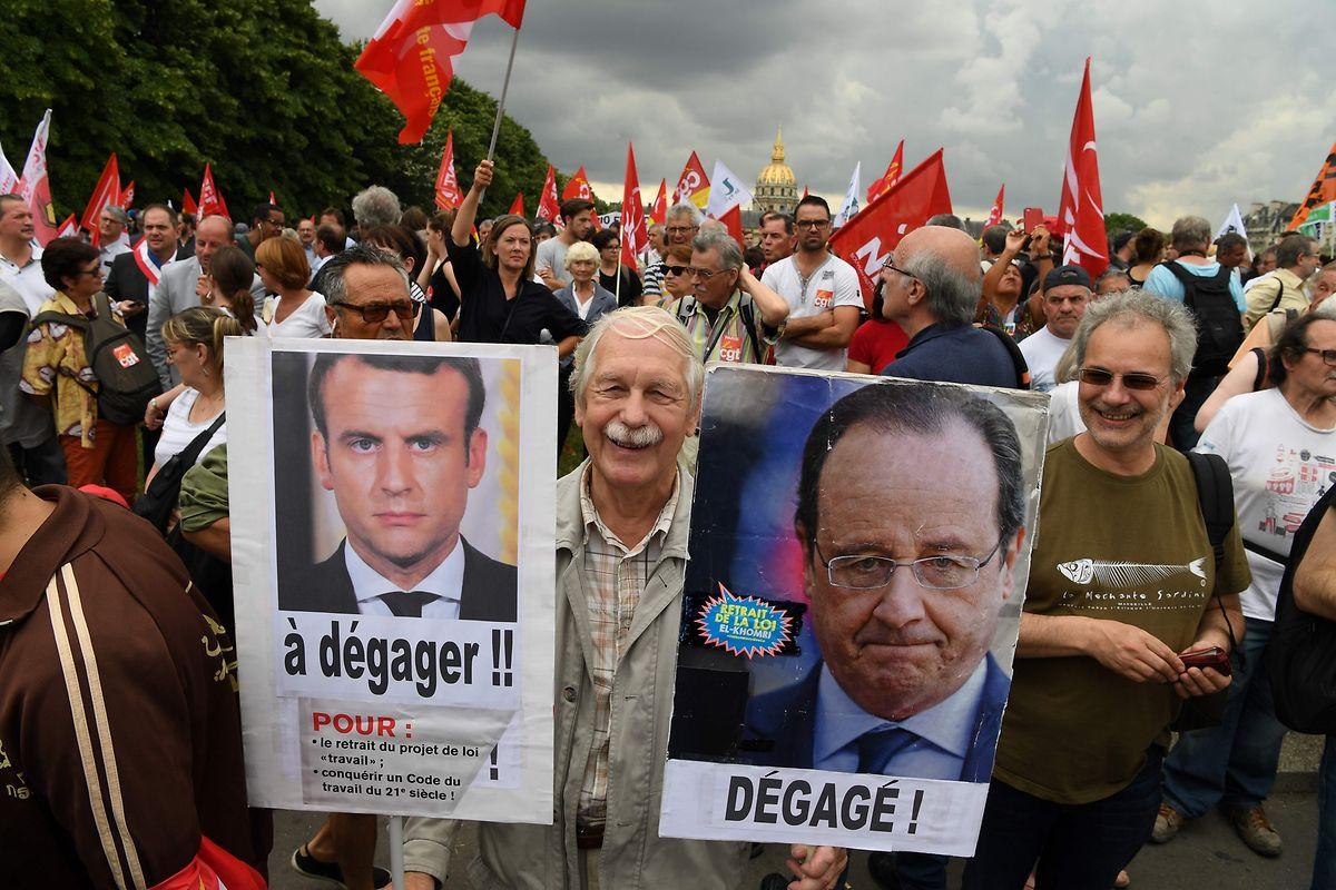 Macron muss bei seinen Reformplänen mit Gegenwind rechnen.