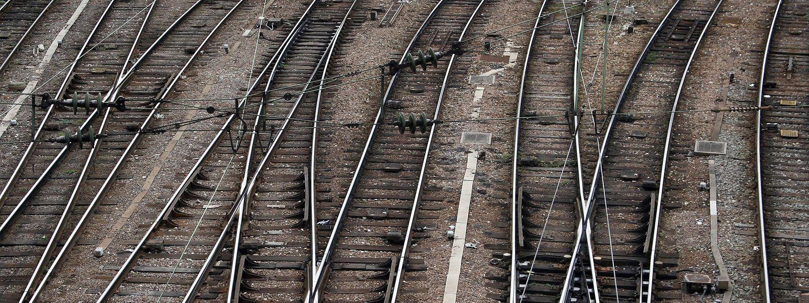 Vendredi, la plupart des lignes du réseau ferré lorrain ressembleront encore à cela.