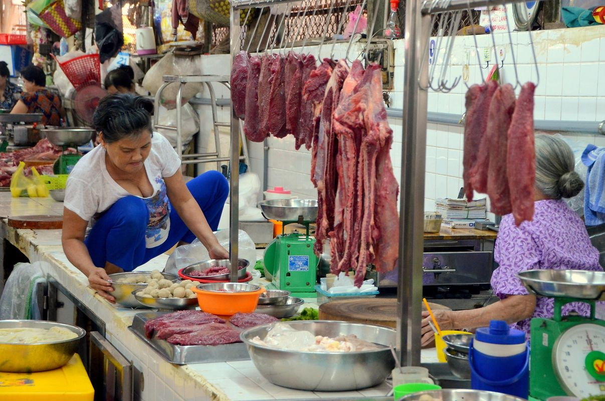 Quartier chinois de Cholon à Saïgon