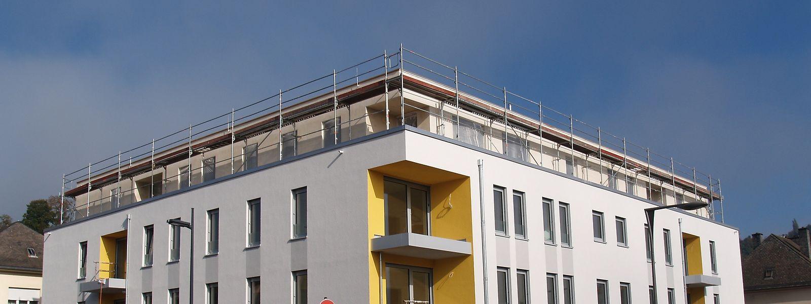 Dieser Neubau in der Rue des Fleurs in Diekirch gefällt nicht jedem.