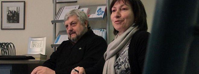 Generalsekretär Jean Rodesch und Simone Reiser, Leiterin der sozialen Dienste, bezeichnen die Lage als ernst.