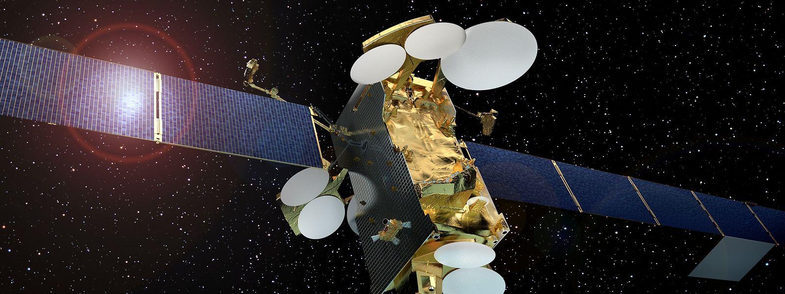 SES-12, der leistungsstärksteTelekommunikations-Satellit von SES, wird Ende 2017 ins Weltall starten.