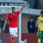Liga. Benfica mantém-se em terceiro lugar a três pontos do FC Porto