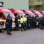 Bombeiros ganham dez ambulâncias e camiões novos para salvar vidas