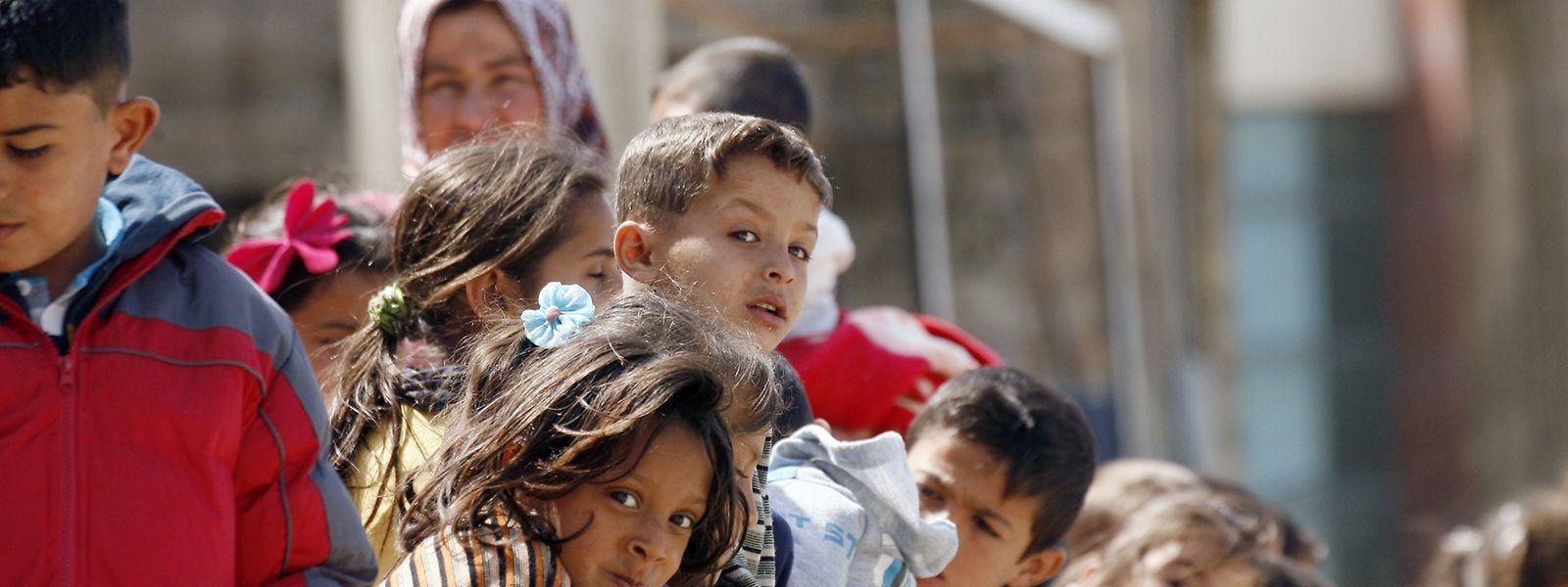 Unter den rund 22 000 Menschen, die heute in Schatila leben, sind etwa 2000 Palästinenser, die in ihrem Leben schon zweimal geflohen sind.
