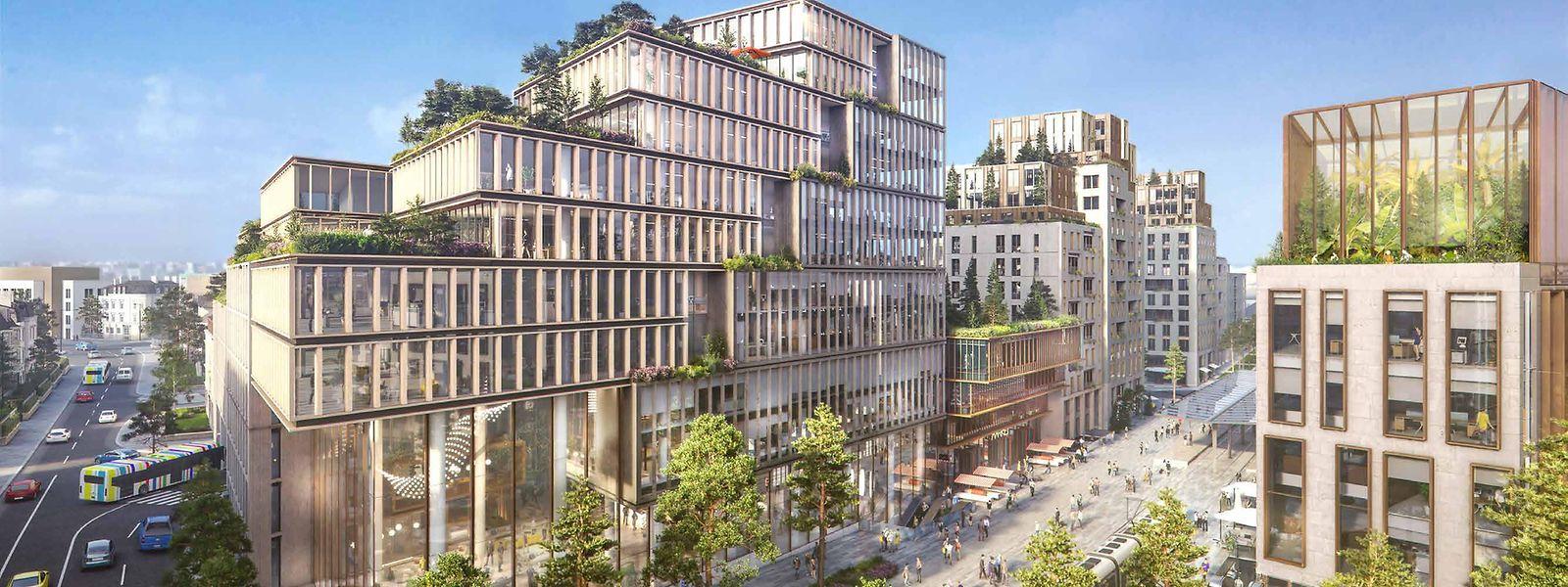 L'objectif est de faire de cette entrée stratégique de la capitale «un pôle de mobilité et un nouveau lieu de vie».