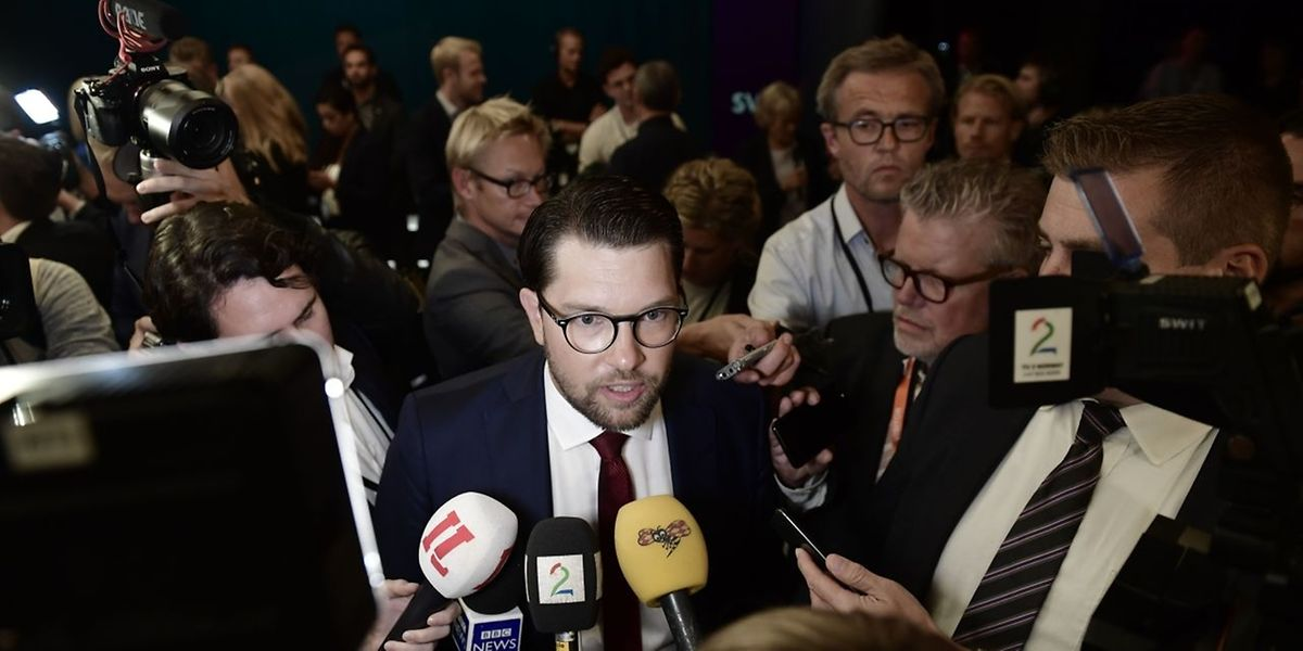 Die Rechtspopulisten um Jimmie Åkesson haben ein historisch gutes Ergebnis eingefahren. Ansonsten ist wenig klar nach der Wahl in Schweden.