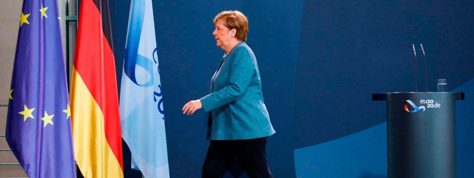 Mit dem angedrohten Stopp von Nord Stream 2 setzt die deutsche Bundeskanzlerin Angela Merkel Wladimir Putin unter Zugzwang.