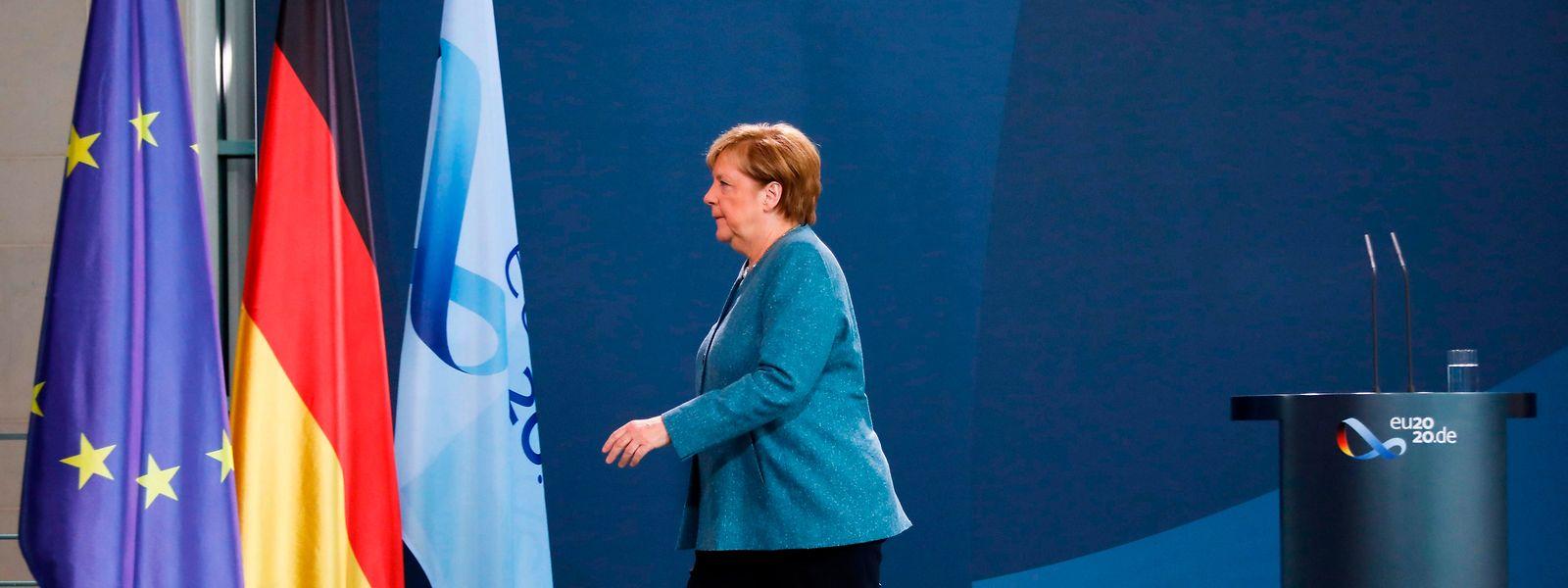 """""""Es gibt eine dunkle Seite von Merkels Führung in Europa"""", sagen die Politologen Matthias Matthijs und R. Daniel Kelemen."""