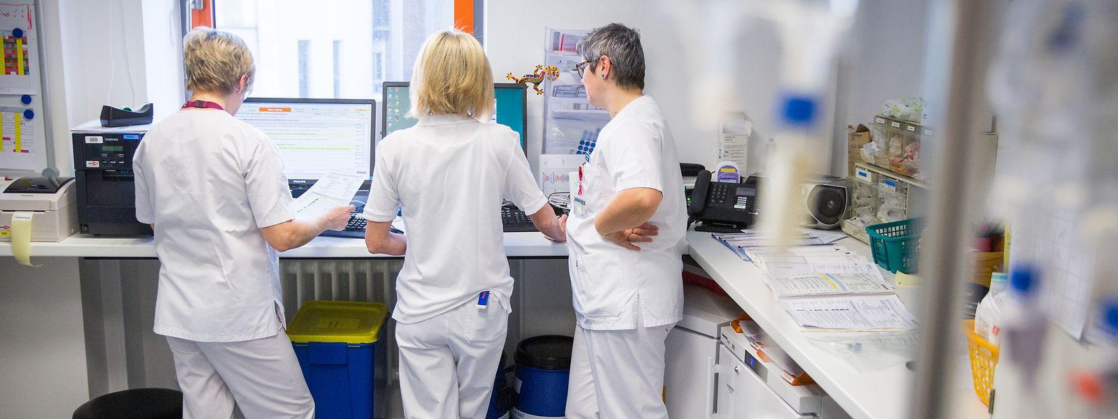 Ein Bruttojahresgehalt von 94.000 Euro ist für viele Krankenpfleger nicht vorstellbar – mehr als die Hälfte arbeitet nämlich in Teilzeit.