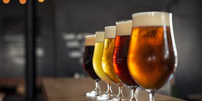 Luxembourg has an array of microbreweries producing ales, lagers, stouts and porters, and even low-carb, bio and vegan beers Photo: Shutterstock