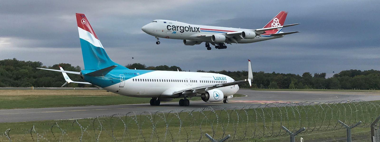 Angst vor dem Dominoeffekt: Luxair gehören 35 Prozent an Cargolux, die wiederum größter Kunde von LuxairCargo sind.