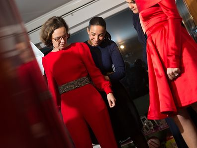 Louer sa tenue pour le réveillon de la saint Sylvestre,Alix Bellac. Foto:Gerry Huberty