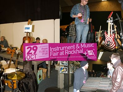 The 7th edition of Luxembourg's Musikbazar takes place at the Rockhal on Saturday