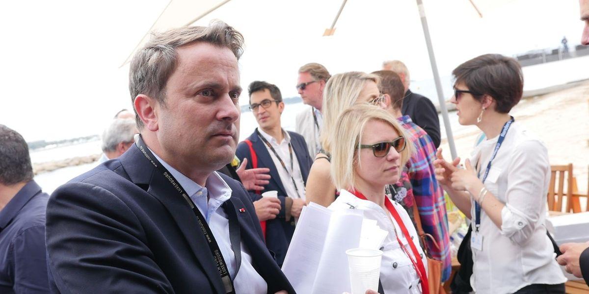 Luxemburger Tag an der Croisette: Premier Xavier Bettel auf Tuchfühlung mit der Filmszene.