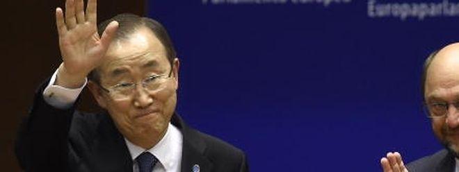 O Secretário-Geral das Nações Unidas, Ban Ki-moon