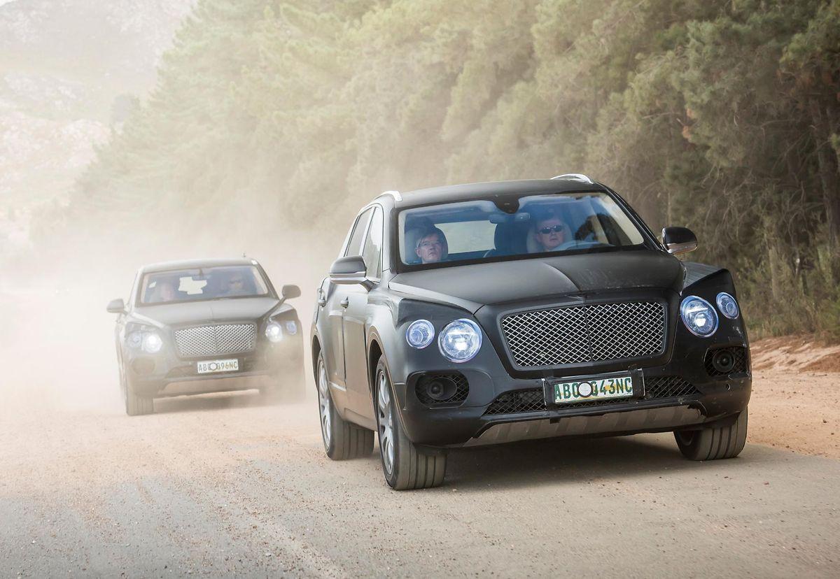 Dickes Ding: Bentley will mit dem Bentayga das Segment der Luxus-SUVs für sich erschließen.