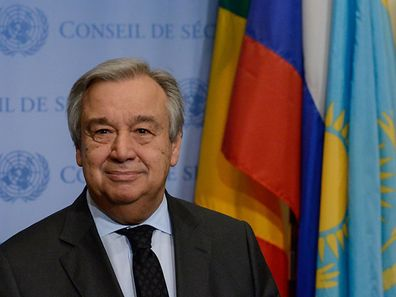 New UN chief Antonio Guterres