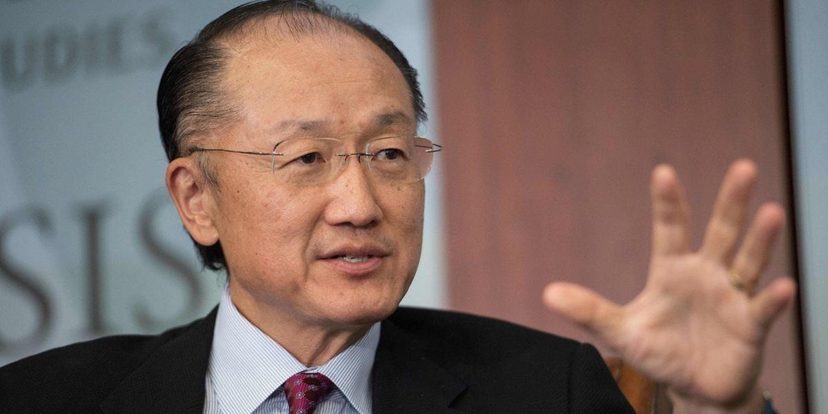 Weltbank-Präsident Jim Yong Kim bei einer Konferenz in Washington am 2. Juni.
