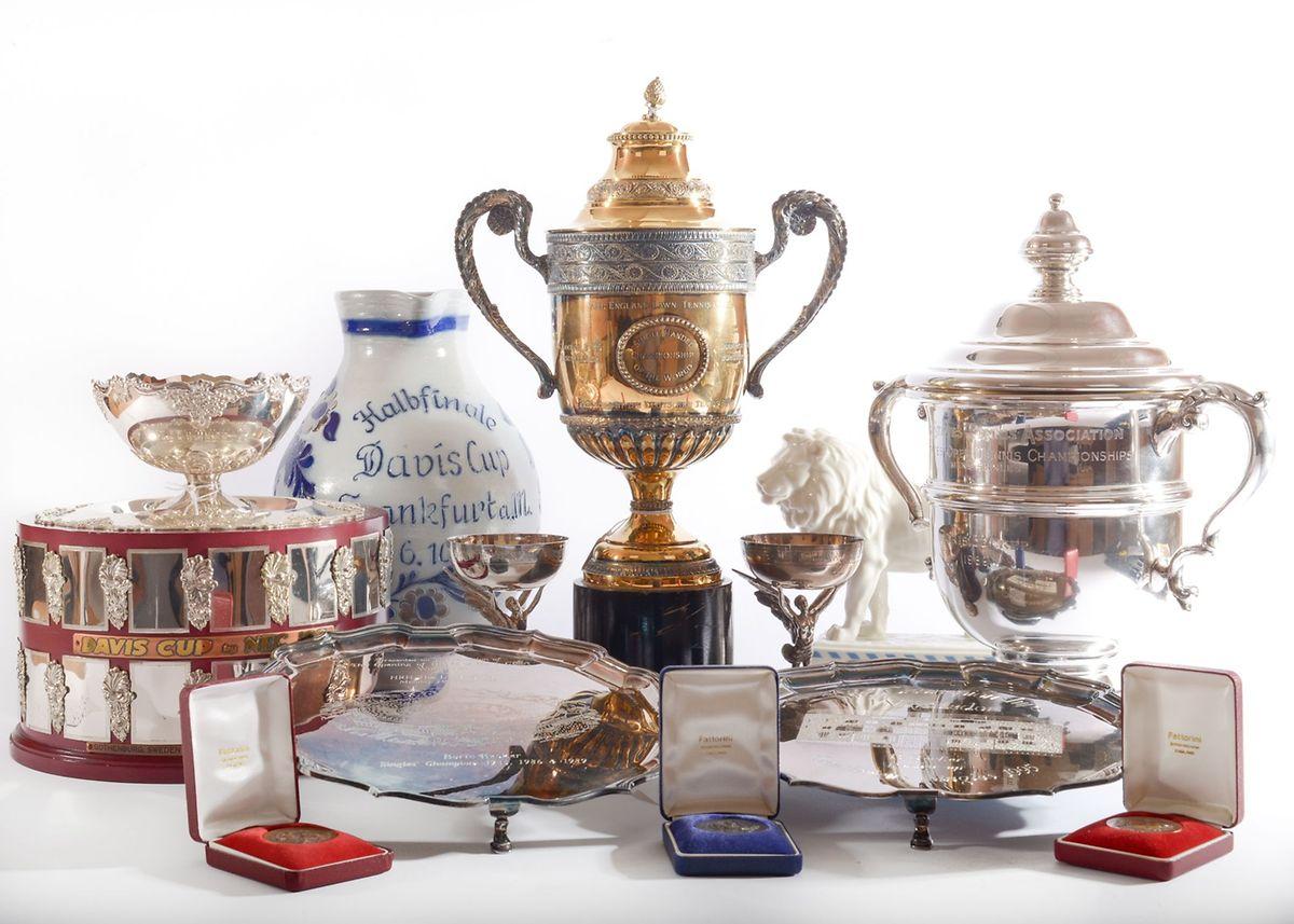 Les trophées de Boris Becker seront mis en vente cette semaine à Londres.