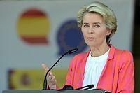 Man müsse den Menschen in Afghanistan helfen, betonte Ursula von der Leyen am Samstag.