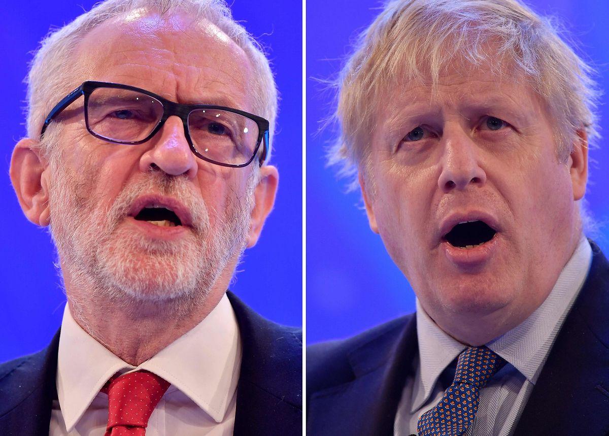 A presque 40% des intentions de vote, les conservateurs de Boris Johnson sont largement en tête, contre 29% pour le Labour de Corbyn, selon l'agrégateur de sondages Britain elect.