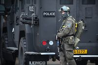 Lokales, Anti-Terrorübung in der Rockhal, Polizei, Spezialeinheit, CGDIS, Esch/Alzette, Belval, Foto: Guy Wolff / Luxemburger Wort