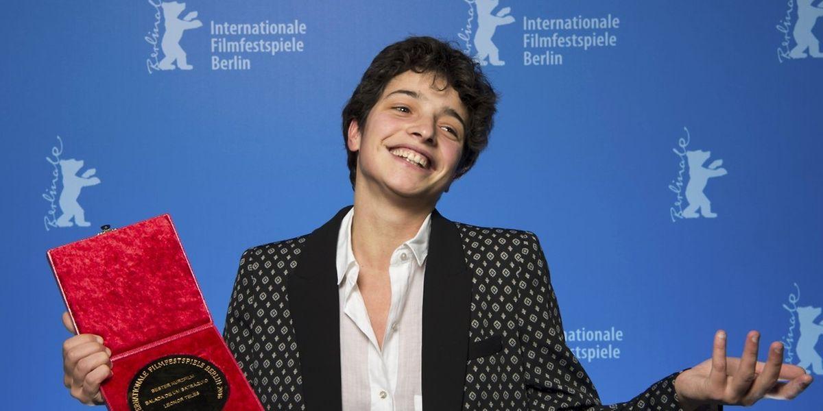 """Leonor Teles já venceu o urso de ouro na secção de curtas-metragens do Festival de Cinema de Berlim com o filme """"Balada de um Batráquio."""