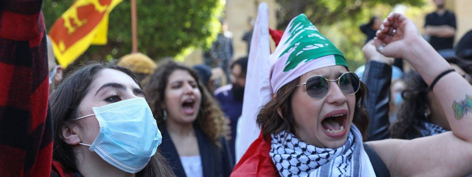 Internationaler Frauentag, auch in Beirut.
