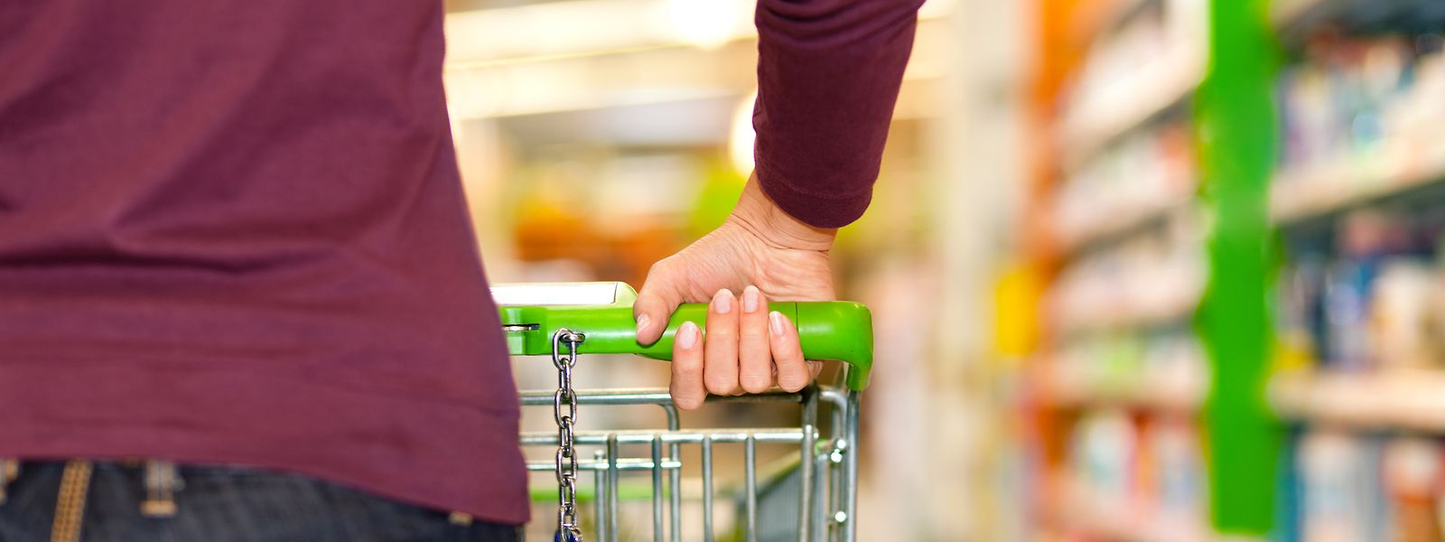 Der Supermarkt ist derzeit nicht der geeignete Ort für einen Familienausflug.
