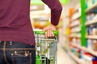Caddy, Einkaufswagen, Supermarkt