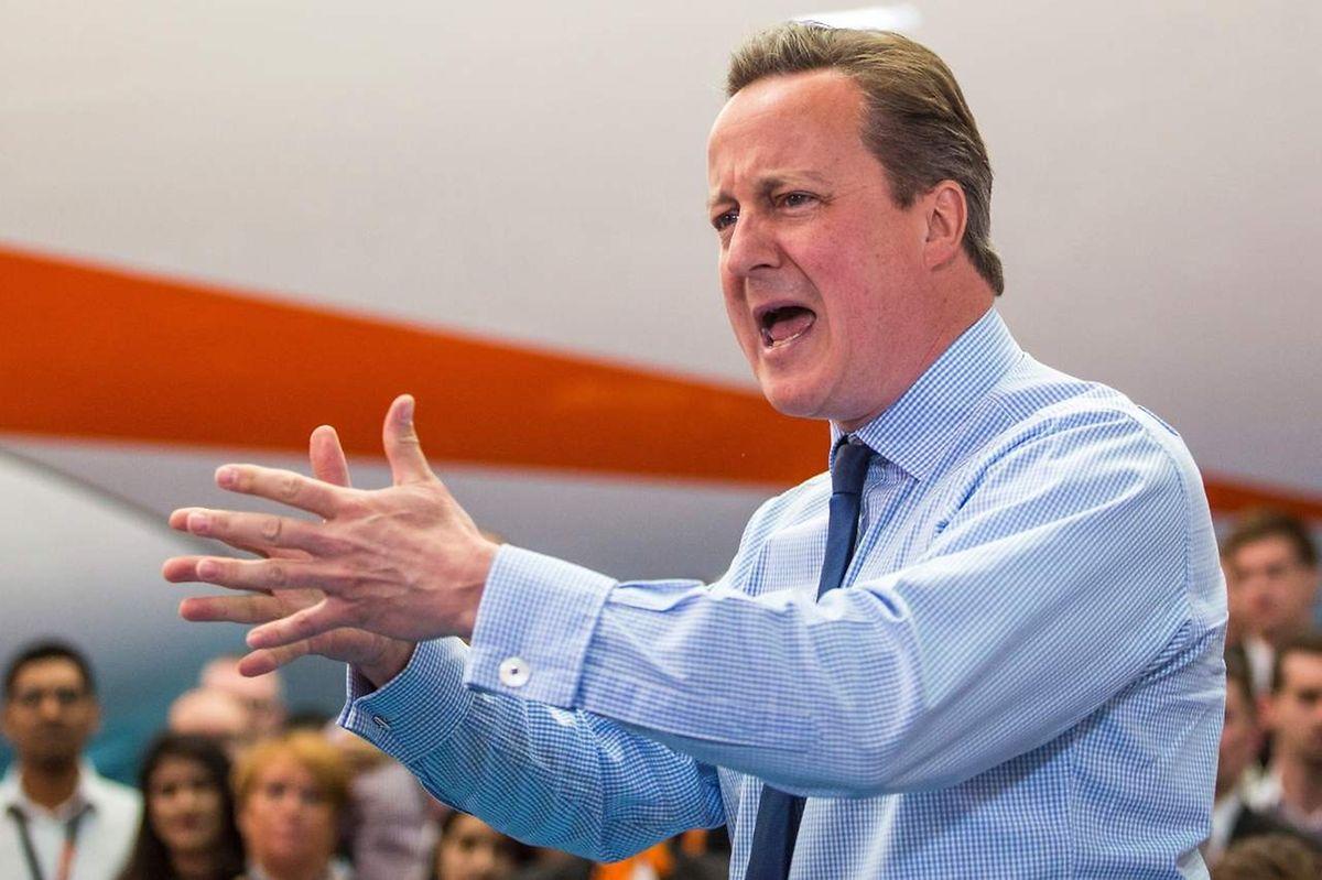 David Cameron kann als Europa-Freund nicht ganz überzeugen. Noch vor wenigen Monaten hat er mit Kritik an der EU nicht gespart.