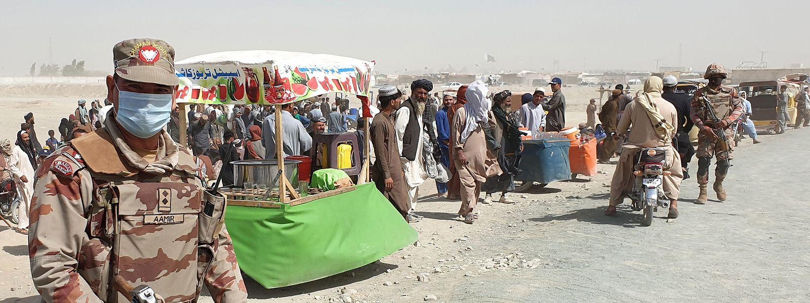 Seit dem Beginn des Abzugs der US- und Nato-Truppen Anfang Mai haben die Taliban mehrere Offensiven in dem Land gestartet.