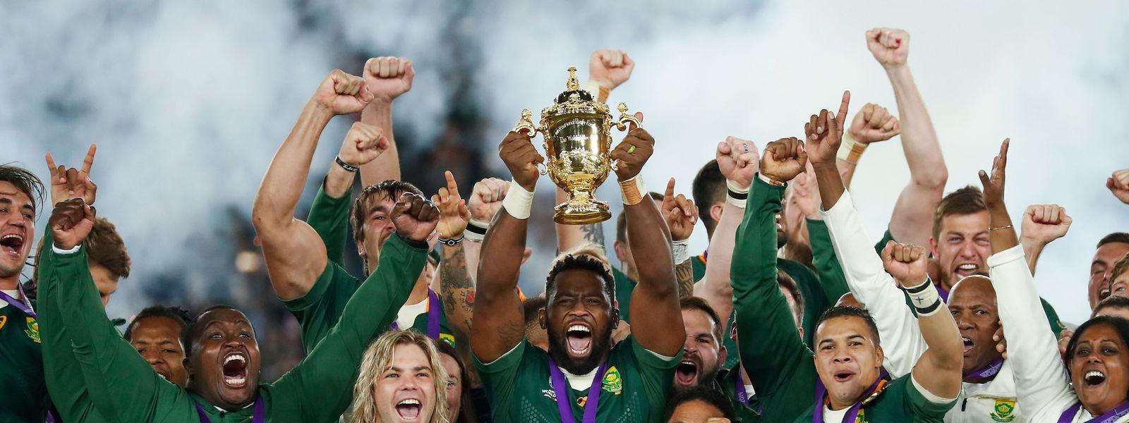 Comme tous les 12 ans, les Boks ont répondu présent pour remporter leur troisième Coupe du monde..