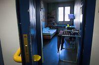 Gefängnis Schrassig , Centre pénitentiaire de Schrassig , strafvollzug , Prison , Justice , Justiz  - Prisonnier - Gefangener  - Détention provisoire - einzelhaft - Gefängniswärter - gardien de prison - gefängnisstrafe - prisong -   - Foto: Pierre Matgé/Luxemburger Wort