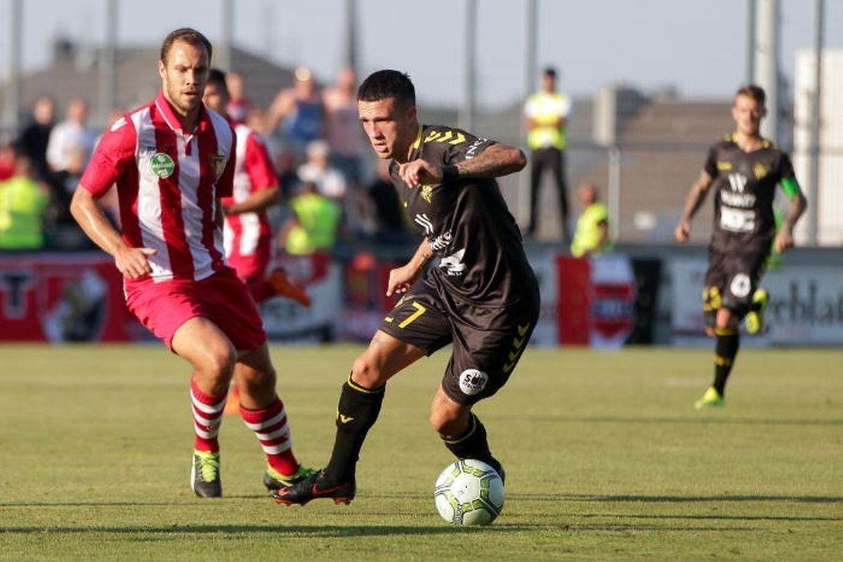 Mayron de Almeida a trouvé le chemin des filets contre les trois adversaires du Progrès en Europa League.