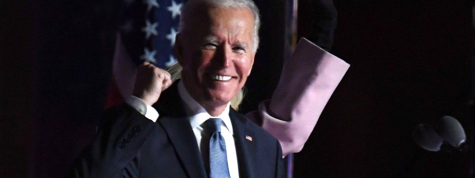 Nun steht es fest: Joe Biden wird der nächste Präsident der USA.